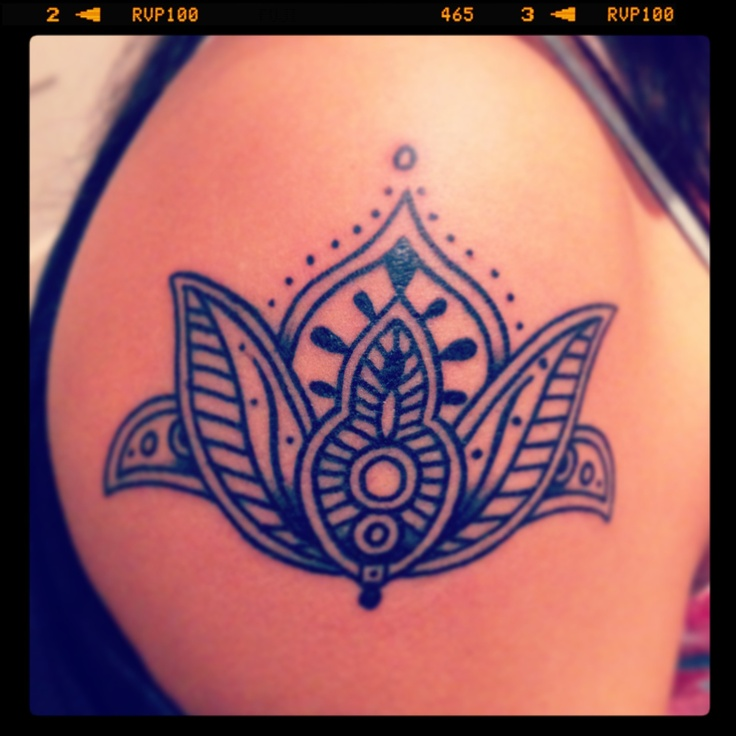 Arabic tattoo tattoos pinterest beautiful lotus for Beautiful in arabic tattoo