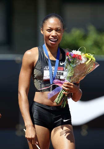 Allyson Felix.....Team USA...Track and Field