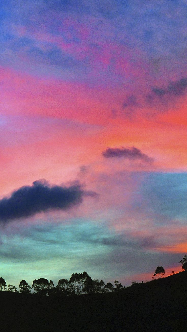 Iphone 6 wallpapers - Sky Rainbow Cloud Sunset Nature Iphone 6 Wallpaper