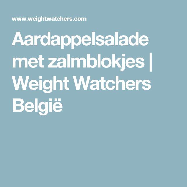 Aardappelsalade met zalmblokjes | Weight Watchers België