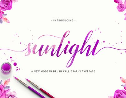 "Check out new work on my @Behance portfolio: ""Sunlight Script"" http://on.be.net/1M8t6lt"
