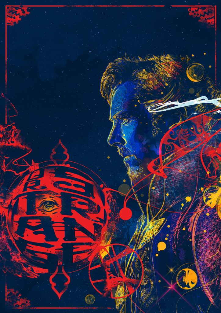 Doctor Strange - Created by Chris MalbonPart of the Poster Posse's tribute to the upcoming Marvel film. Check out the full feature here.
