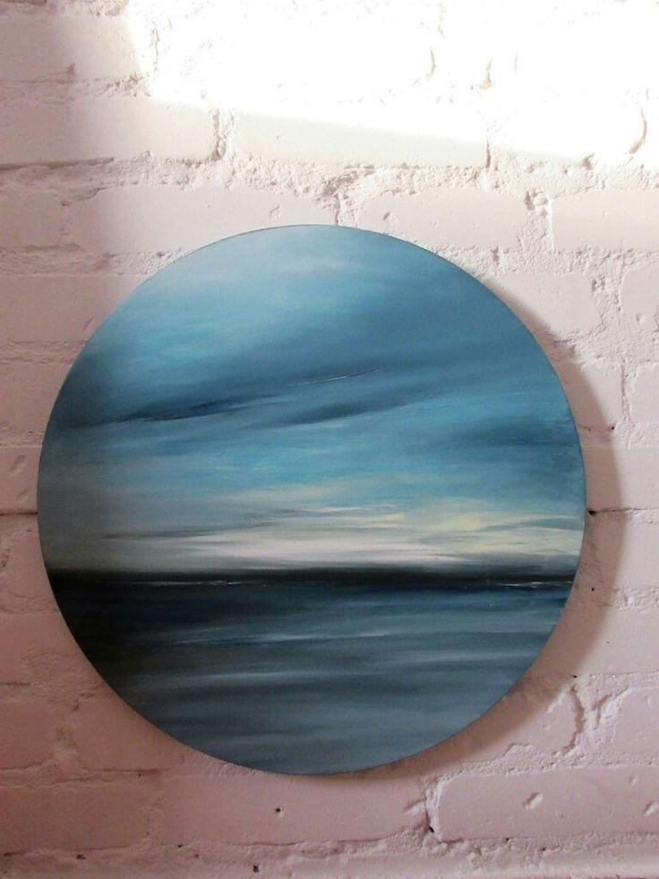 Pejzaż morski, pejzaż abstrakcyjny, marynistyka, obrazy olejne Sylwia Michalska