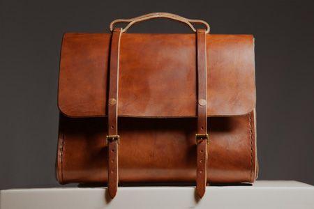 ETWAS leather bag