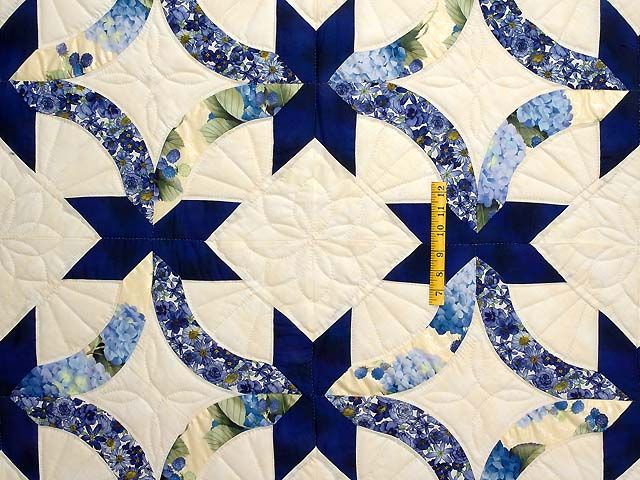 Friendship Ring Quilt Exquisite Made With Care Amish