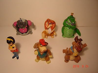 1989-Wendys-Kids-Meal-ALL-DOGS-GO-TO-HEAVEN-COMPLETE-SET-OF-6