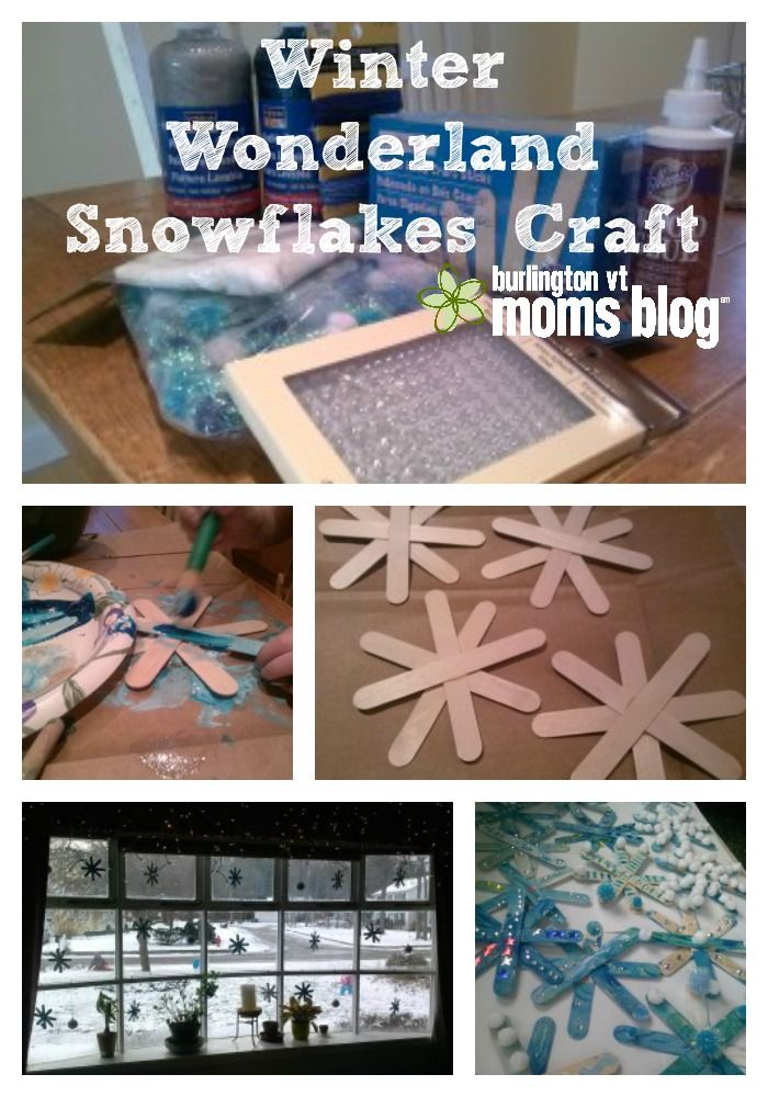 A Winter Craft for Families: Wonderland Snowflakes #snowflakes #wintercraft #kidscraft