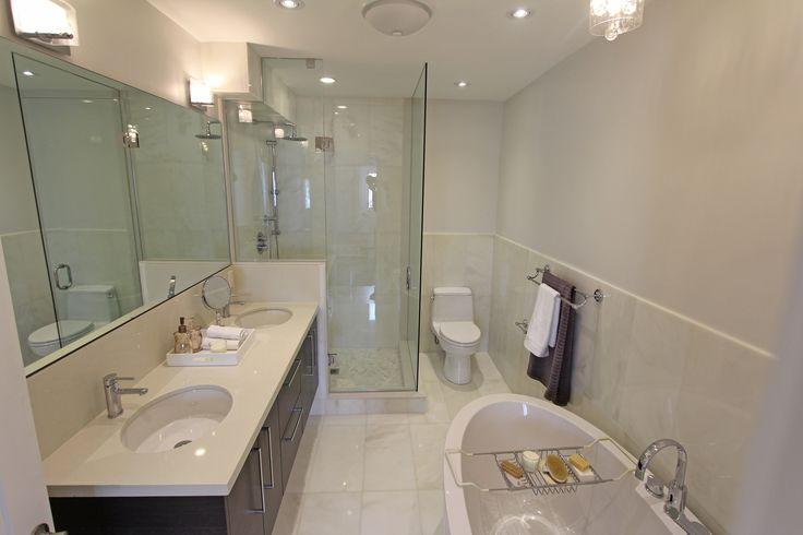 For sale, 563 St Clarens Ave, Toronto, real estate, Bloordale Village, 3 bedroom, 4 bathroom, home, cedar, brick, master ensuite, bathroom