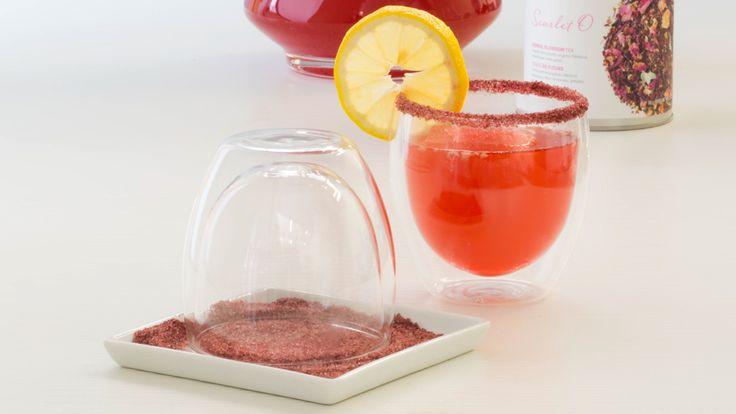 Berry-Lemonade Herbal Iced Tea