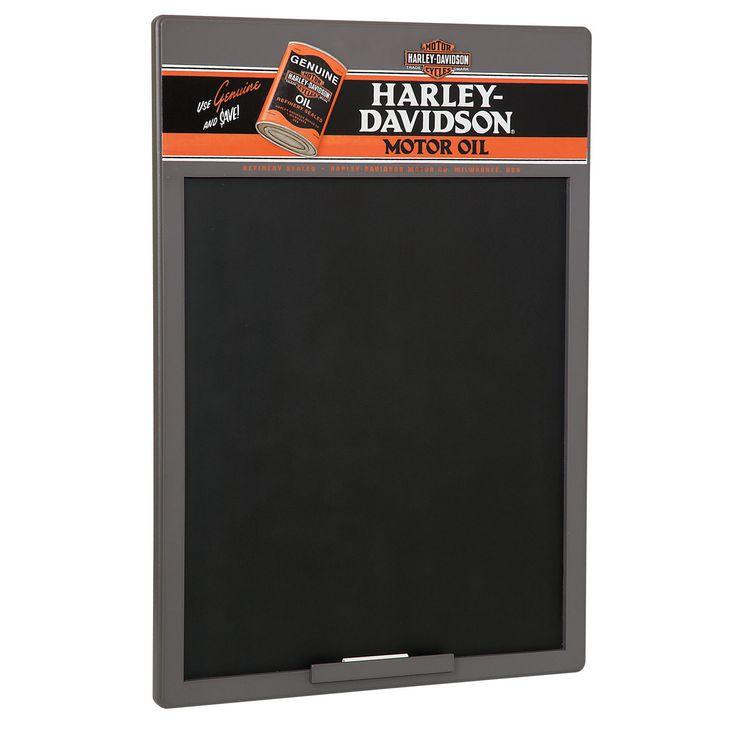 Harley Davidson Oil Can Chalkboard HDL-15103