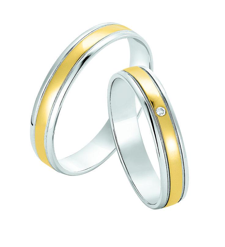 #Eheringe Weißgold 585 bicolor bei #Dorotheum Juwelier