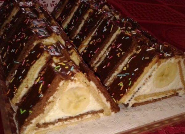 Vyskúšajte úžasný nepečený koláč: strecha z BeBe sušienok - Báječná vareška