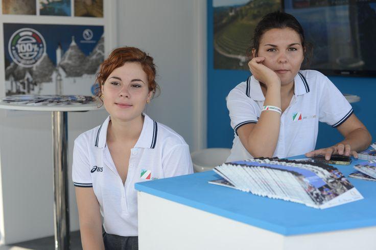 Ospitalità Italiana a Mosca 2013 con gli atleti azzurri