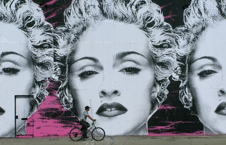 mr Brainwash: Mr Brainwash, Street Art Murals, Urban Art, Brainwash Streetart, Madonna Mural, Brilliant Artist, Design, Urban Art