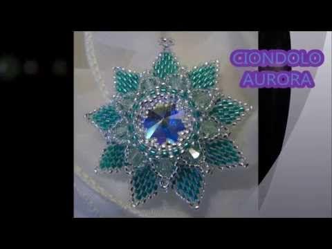 tutorial ciondolo aurora prima parte - YouTube