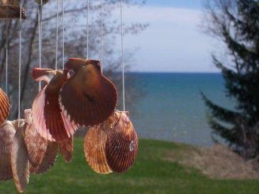 Seashell Wind ChimeSea Fun, Summer Crafts, Beach Crafts, Fun Activities, Beachtheme Crafts, Ocean Crafts, Beautiful Crafts, Seashells Windchimes, Beach Them Crafts