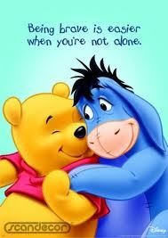 A friend is all we need...