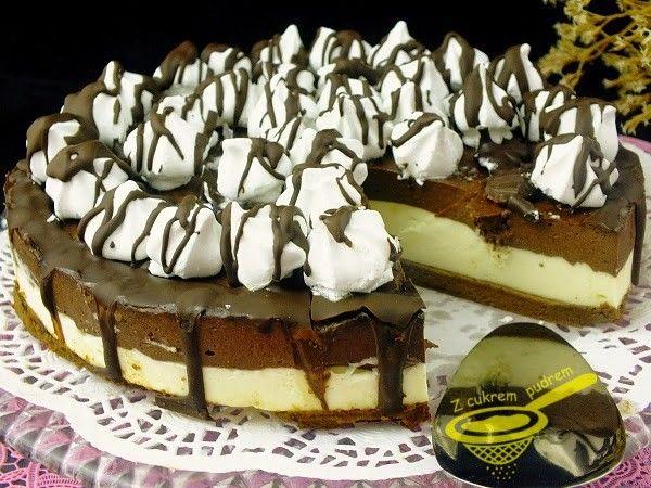 NEPEČENÝ cheesecake s nutelou a mascarpone krémem | NejRecept.cz