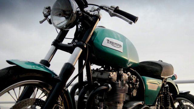 Old Dogs, New Tricks by Tom Salt | A short film about 3 classic British motorcycles from the 1960's re-imagined for the 21st century.