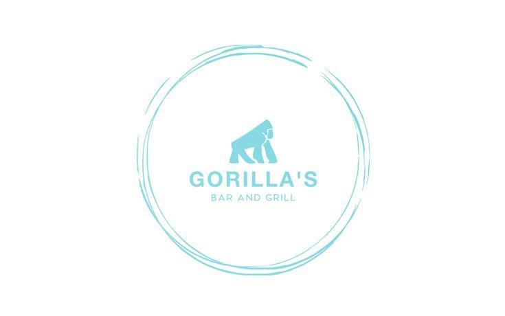 gorilla logo design