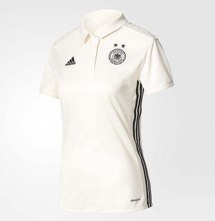 Camisas da seleção feminina da Alemanha 2017 Adidas Eurocopa
