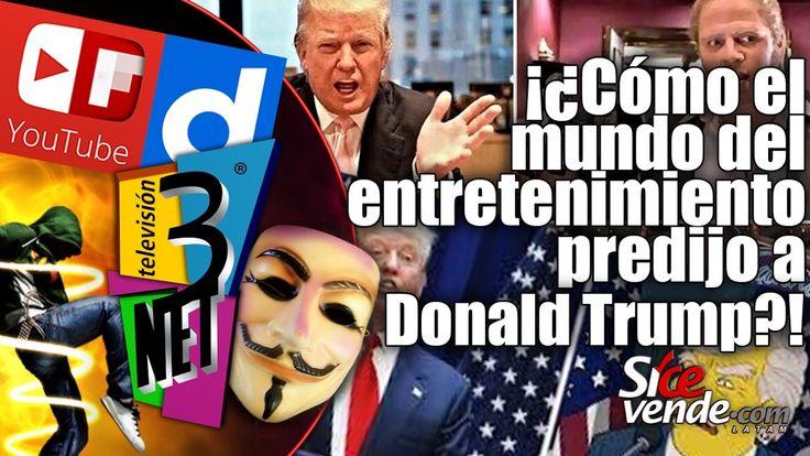 3Net • Cómo el mundo del entretenimiento predijo la llegada de Donald Trump