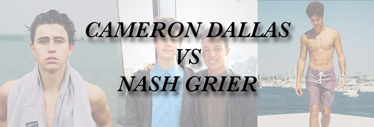 Cameron Dallas vs. Nash Grier: Who would make a better homecoming date? - Alyce Paris News, Celebrity Fashion, Prom News, Humor, Videos !