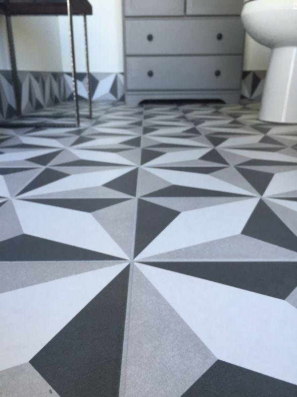 Bathroom Reno Tile Flooring Patternedtile Home Depot Merola Twenties