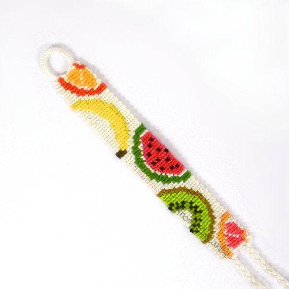 Fruit Salad Friendship Bracelet - Made to Order