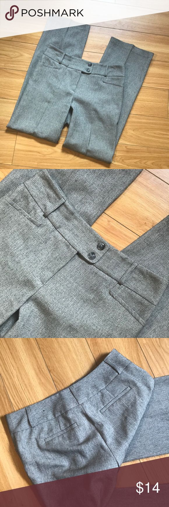 Great office slacks These are grey with black stitching! Rafaella Pants Trousers