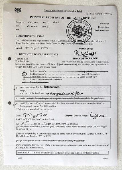 Free Divorce Decree Forms – Free Divorce Decree Forms