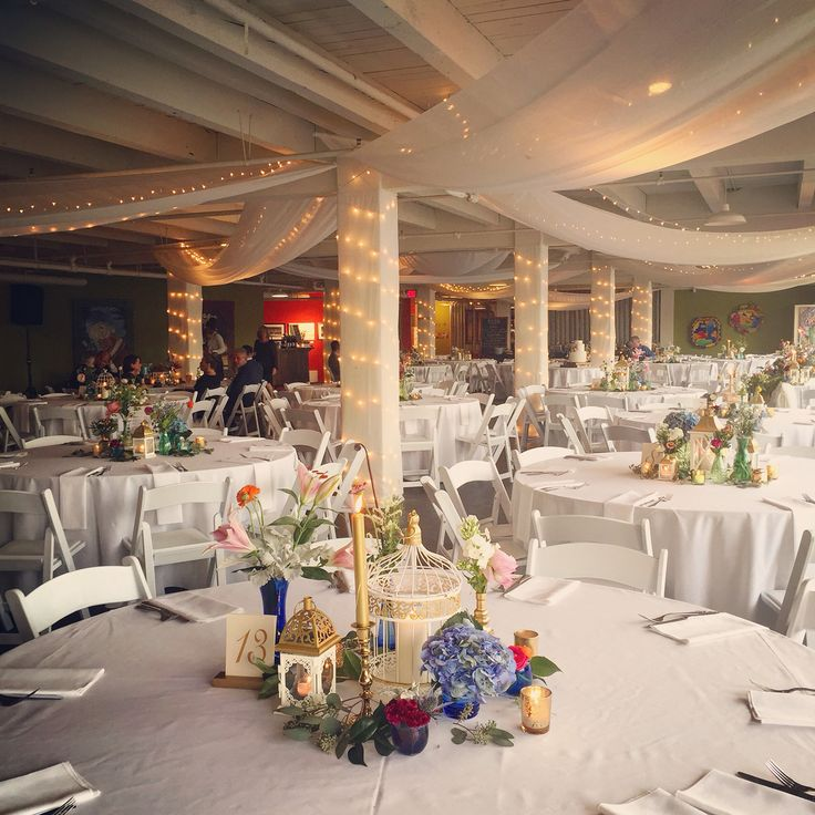 wedding reception locations nyc%0A wedding reception in smARTspace at   th fabric ceiling  lighting  layout  and florals designed