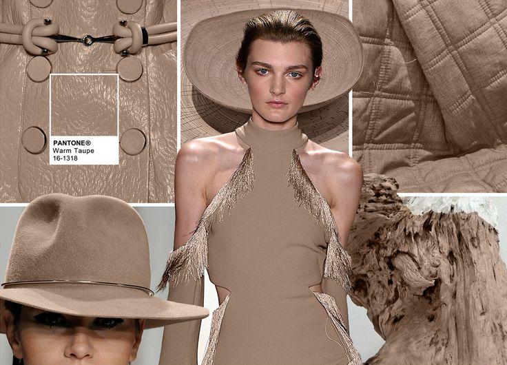 Pantone Fashion Color Report Fall 2016 - PANTONE 16-1318 Warm Taupe