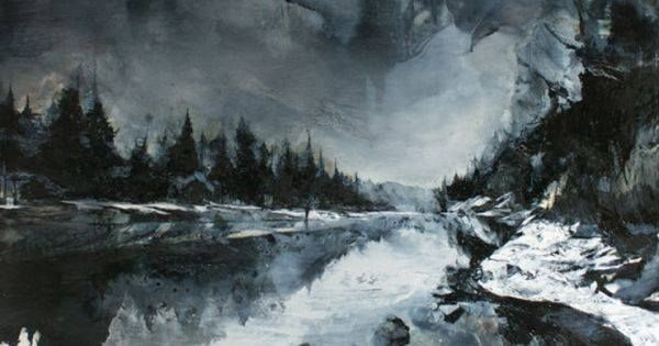 Just Pinned to Forests: markthompsonartist: to the titled 59 x 83cm oil on wood March... http://ift.tt/2oSQK21