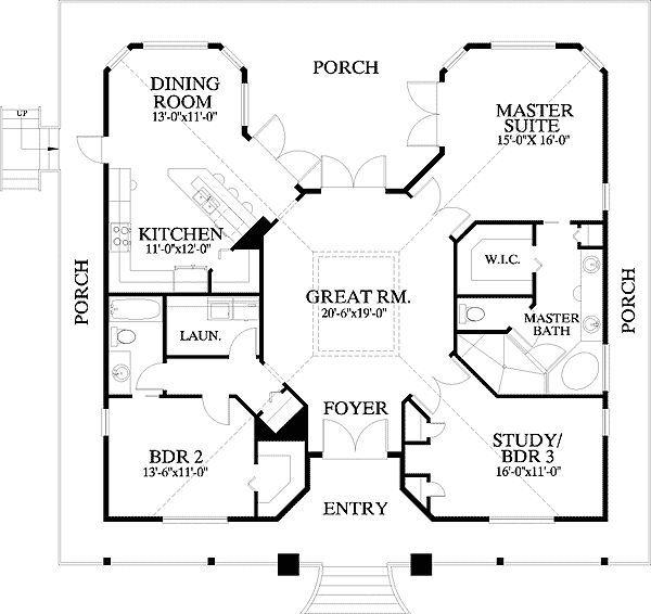 Cracker House Plan Home Ideas Pinterest