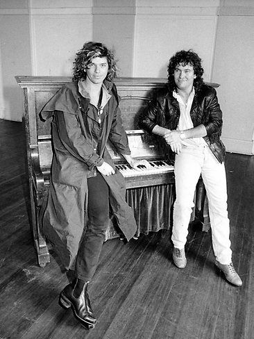 Michael Hutchence & Jimmy Barnes