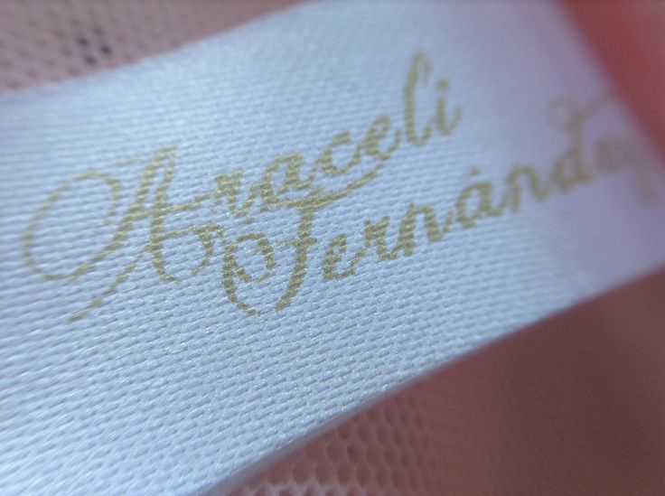 Handmade lingerie by Araceli Fernández
