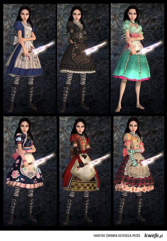 Alice Madness Returns Dresses | Alice: Madness Returns Dresses - KWEJK.pl