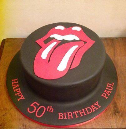Rolling Stones Cake Cake By Natasha Novelty Cakes