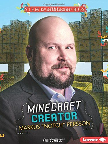 Markus Persson designed his first computer game when he was just eight years old. Learn how Persson's love of computers and design helped him design the popular video game Minecraft.