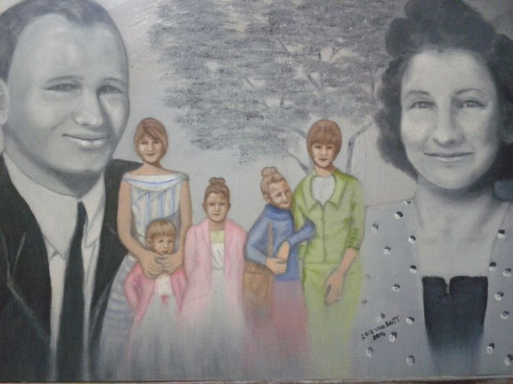 Family Tree.. oil on canvas