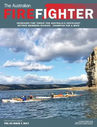 The Australian Firefighter Summer 2017  The official journal of the United Firefighters Union of Australia. Summer 2017 edition.