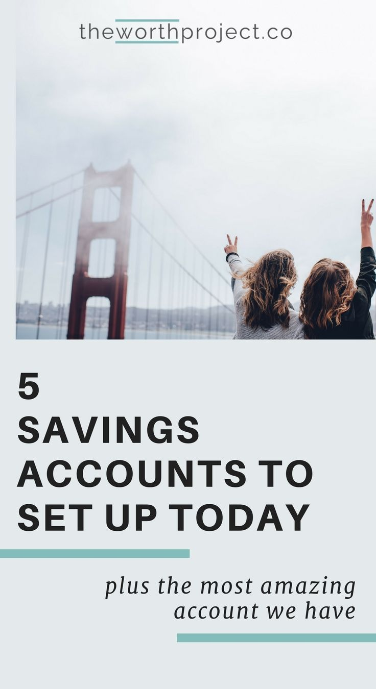 how many savings accounts should i have | budgeting for beginners