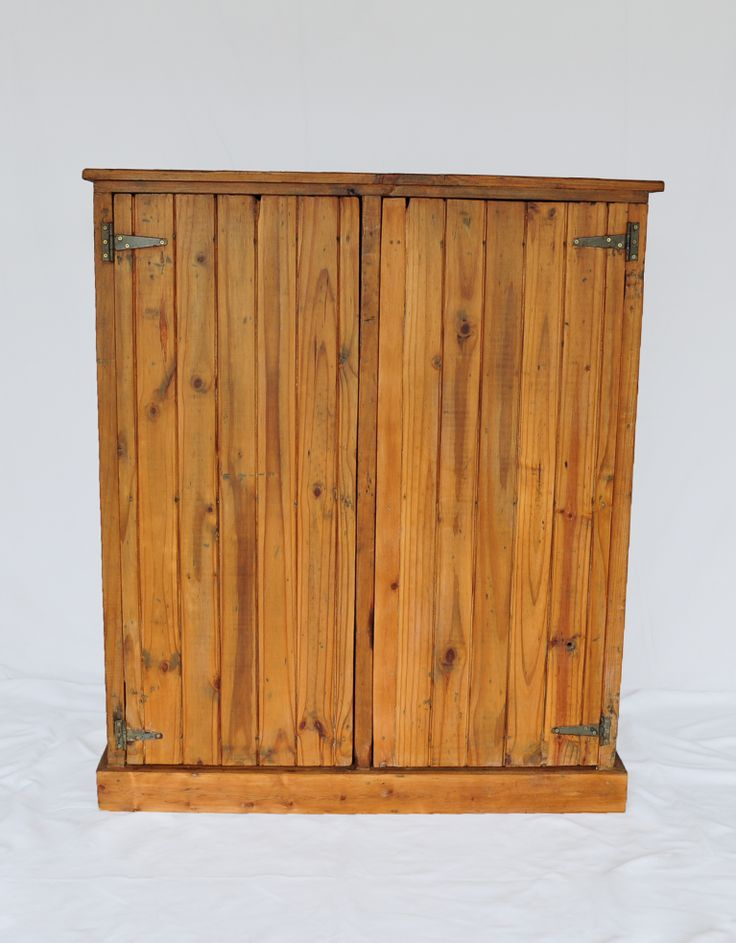 #NorthcliffAntiques Early 20th century two door pine cupboard. #AntiqueShops #Johannesburg #Cottage #FarmStyle #FreeStanding #KitchenFurniture