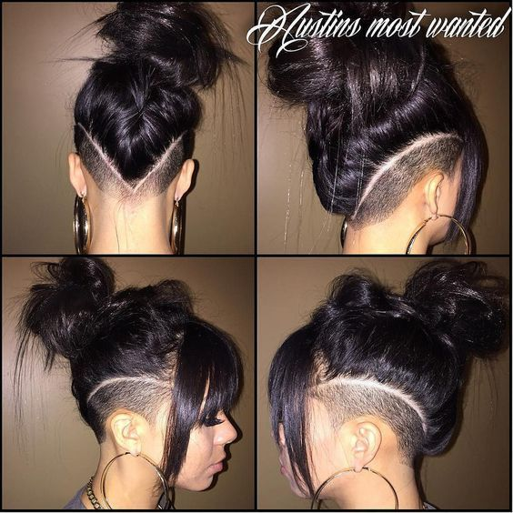 chose shaved sides hairstyles