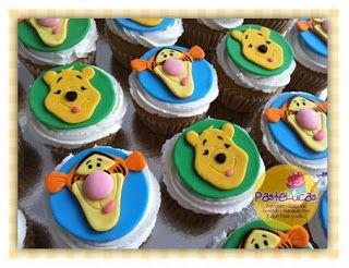 Panquecitos Tigger y Pooh