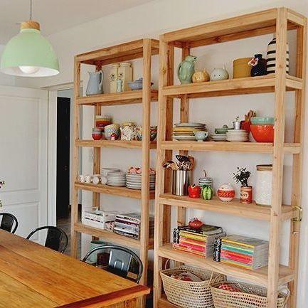 Y un día... Volvimos a postear en el blog!   hicimos  tutoríal con Loli para mostrarles como hicimos las estanterías de su cocina. En @experimentocasa les contamos como y en el blog de @doscasas nos muestra como quedo su cocina con las estanterías que vienen enamorando en Instagram ❤❤❤ . . . #chicascarpinteras #eltaller #blog #blogger #woodblogger  #debuenamadera