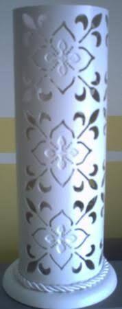 Resultado de imagem para luminária de pvc
