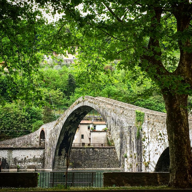 The beautiful Devil's Bridge