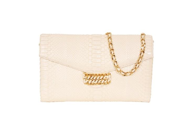 CASHHIMI python clutch bags